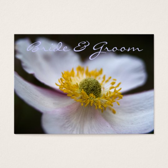 Japanese Anemone • Save the Date Mini Card