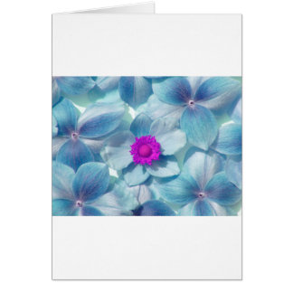 Japanese Anemonenblüten coloured digitally Greeting Card