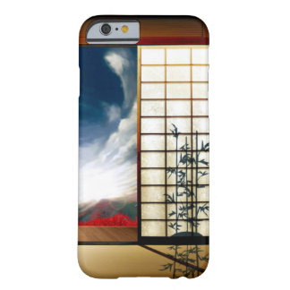 Japanese Anime Fantasy Dojo Scene Custom iPhone Barely There iPhone 6 Case