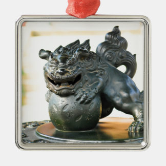Japanese architecture christmas ornament