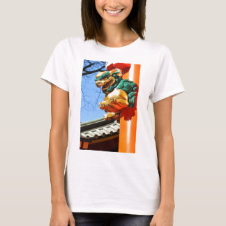 Japanese architecture in Tokyo, Japan T-Shirt