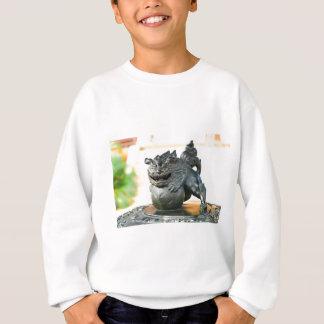 Japanese architecture sweatshirt