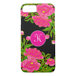 Japanese Art Beautiful Peonies iPhone 7 Case