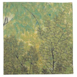 Japanese Art cloth napkins