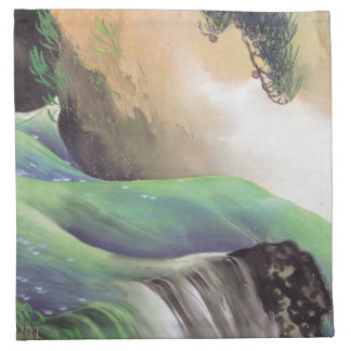 Japanese Art cloth napkins