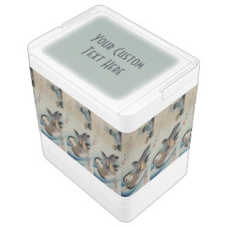 Japanese Art custom cooler Igloo Cool Box