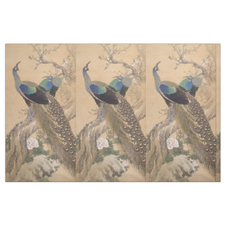 Japanese Art custom fabric