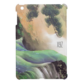 Japanese Art custom monogram cases iPad Mini Case
