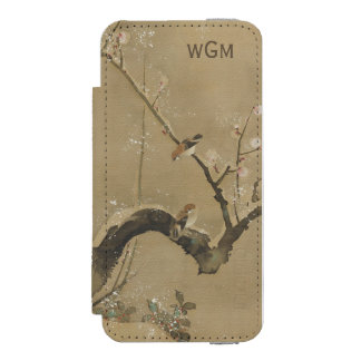 Japanese Art custom monogram wallet cases Incipio Watson™ iPhone 5 Wallet Case