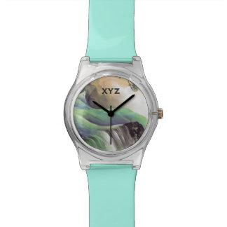 Japanese Art custom monogram watches