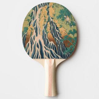 Japanese Art custom ping pong paddle