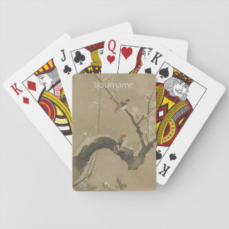Japanese Art custom playing cards