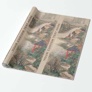 Japanese Art custom wrapping paper