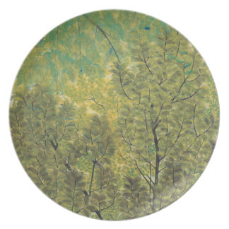 Japanese Art melamine plates