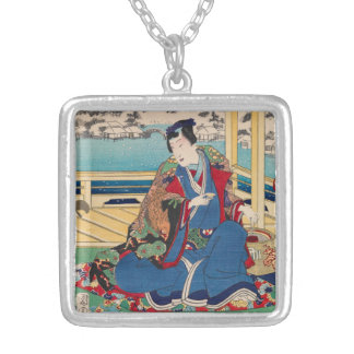 Japanese Art necklace