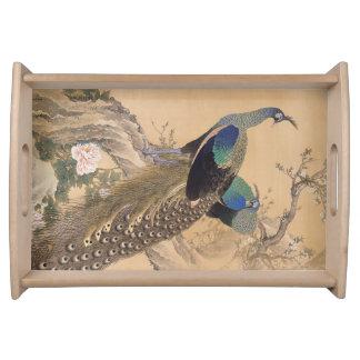 Japanese Art serving trays
