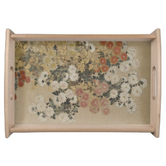Japanese Art serving trays