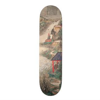 Japanese Art skateboards