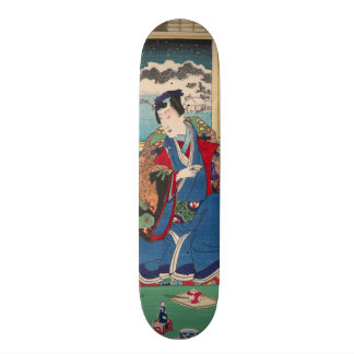 Japanese Art skateboards