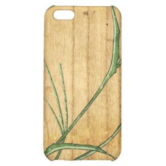 Japanese Bamboo on Wood iPhone 5C Case