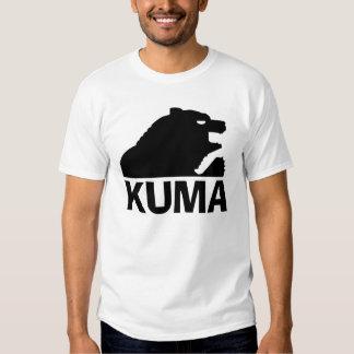 Japanese Bear (Kuma) Black Shirts