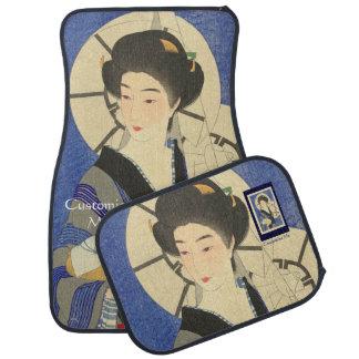 Japanese Beauty At the Bathouse Car Mat
