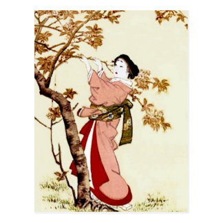Japanese Beauty Postcard