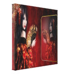 Japanese Beauty - Wrapped Canvas Stretched Canvas Print
