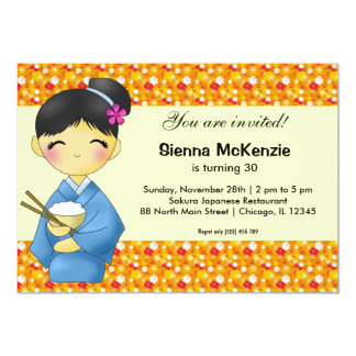 Japanese Birthday Cards Invitations Zazzlecouk - Birthday invitation in japanese