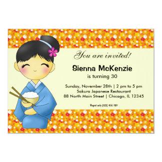 Japanese Birthday theme Card