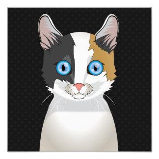 Japanese Bobtail Cat Cartoon Paws Photo