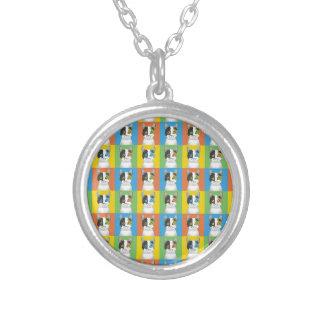 Japanese Bobtail Pop-Art Custom Necklace