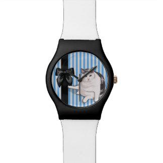 Japanese Bobtail Watch, Nubbie Bow Watch