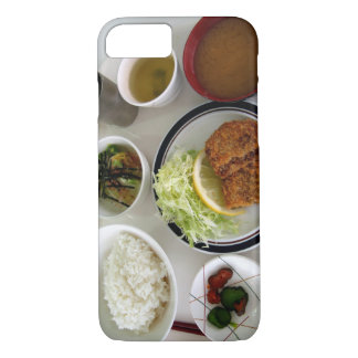 Japanese Breakfast Food Bowls Photo iPhone Case