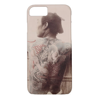 Japanese Bridegroom's Tattoos, c.1880 (photo) iPhone 8/7 Case