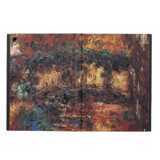 Japanese Bridge by Claude Monet, Vintage Fine Art Case For iPad Air