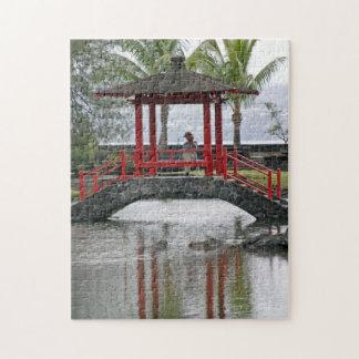 Japanese Bridge in Hilo, Hawaii Jigsaw Puzzle