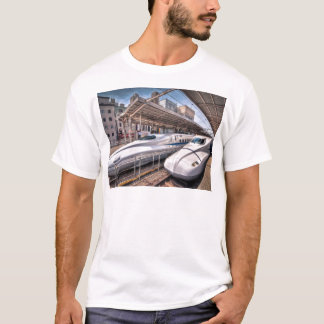 Japanese Bullet Trains at Tokyo Station T-Shirt