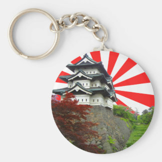 Japanese Castle Key Ring