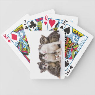 Japanese cat bicycle playing cards