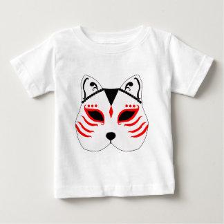 Japanese cat mask baby T-Shirt