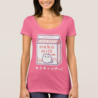 Japanese Cat Milk T-Shirt