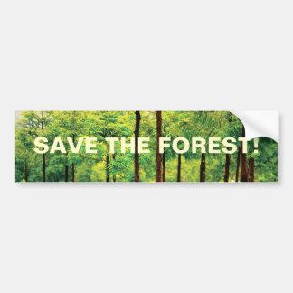 Japanese Cedar woods Bumper Sticker