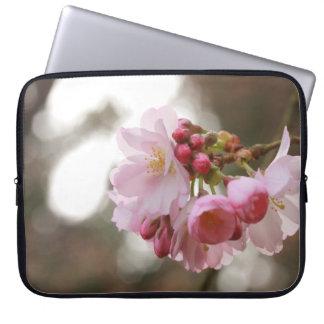 japanese cherry blossom in the light laptop sleeve