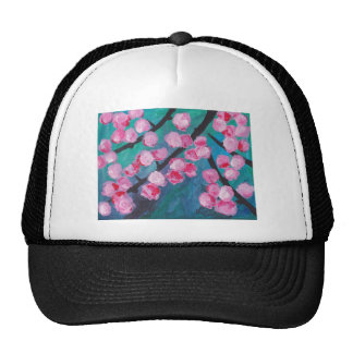 Japanese Cherry Blossom Painting Cap