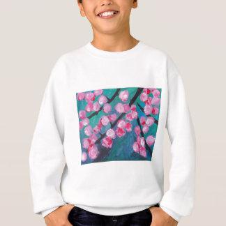 Japanese Cherry Blossom Painting Sweatshirt