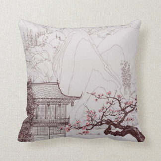 Japanese  Cherry Blossom Pillow