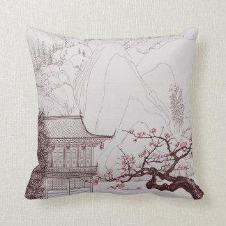 Japanese  Cherry Blossom Pillow Cushions