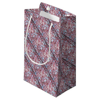 Japanese Cherry Blossom Small Gift Bag