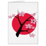 Japanese Cherry Blossom Tattoo Cards